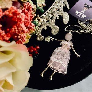 Parisian Jewel Doll Necklace